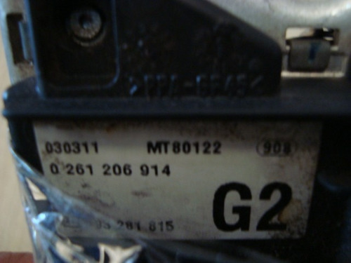 kit modulo de injeção zafira o261206914 g2  ! !  !