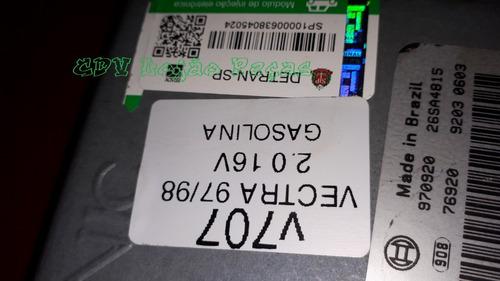 kit módulo injeção vectra 97/98 2.0 16v gas 93233443 d6 v707