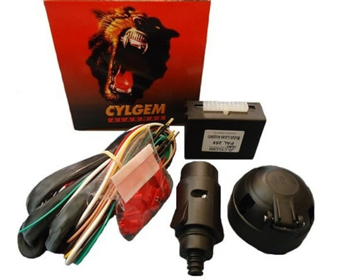 kit modulo luces electronico enganche trailer cylgem 7 vias