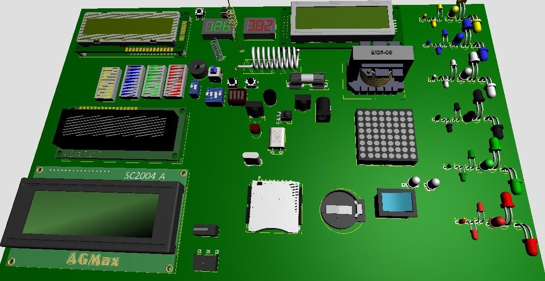Kit Modulos Sensores Arduino Biblioteca 3d Para Proteus Ares
