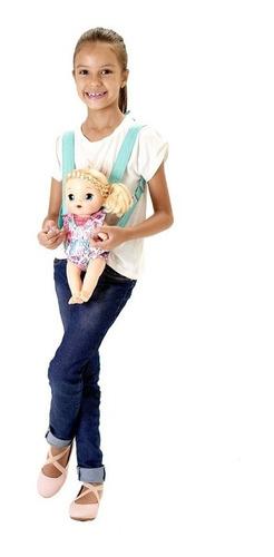 kit moises + canguru baby alive ballet pacific
