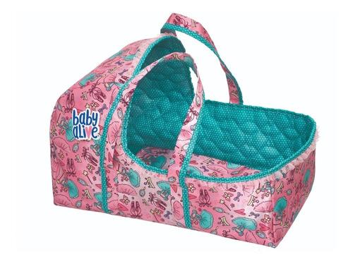 kit moises + sling para sua boneca baby alive pacific