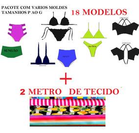 46751d49f206 Tecido Lycra Para Biquini Por Metro no Mercado Livre Brasil