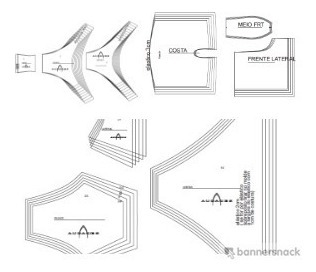 Kit Moldes Modelagem Pecas Intimas 3 Em 1 Promocao Confiave R