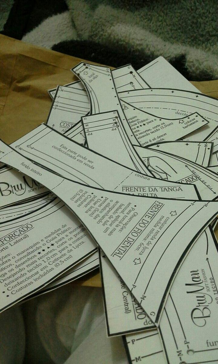 Kit Moldes Para Calcinhas R 45 00 Em Mercado Livre
