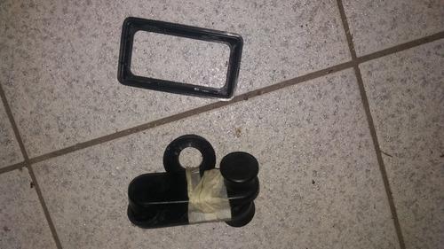 kit moldura maçaneta interna manivela porta uno mille ano 98