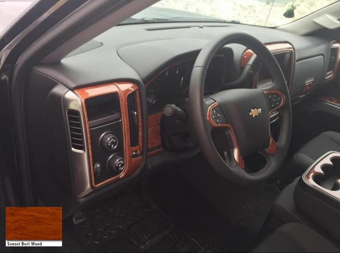 Kit Molduras Tablero Chevrolet Silverado 2014 - 2017 ...