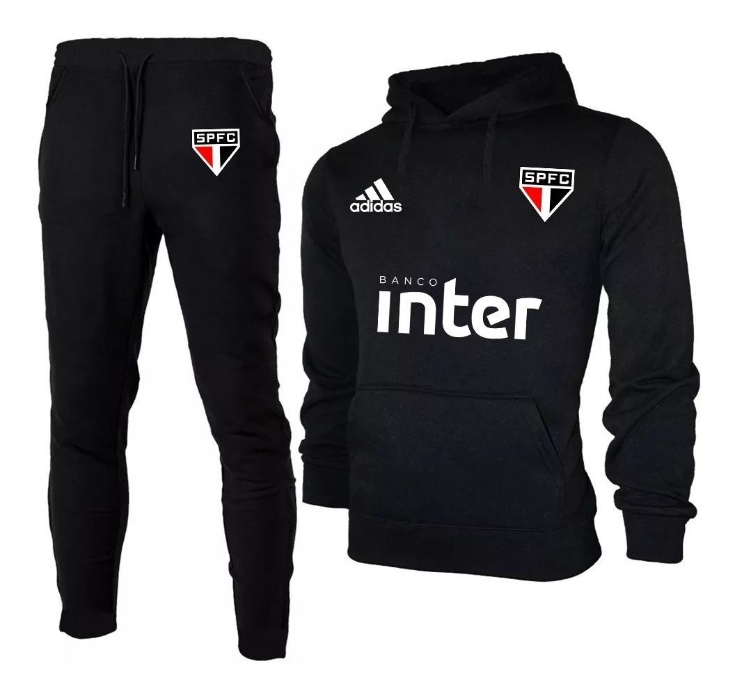 78fe308619 kit moletom blusa de frio masculino + calça são paulo 2019 ! Carregando zoom .