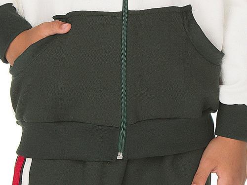 kit moletom menino com 4 conjuntos calça e casaco inverno