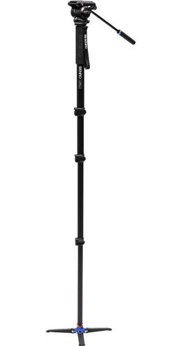 kit monopé benro p/ vídeo a48fds4 c/ cabeça hidráulica 1,74m