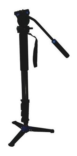 kit monopé profissional benro c38fds2 fibra carbono vídeo
