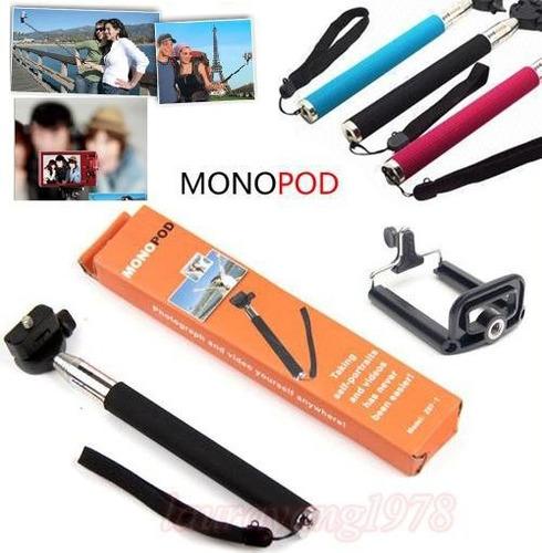 kit monopodo + disparador bluetooth