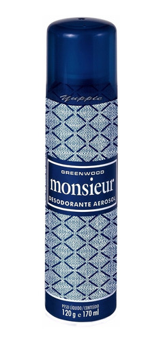 kit monsieur fiorucci ( colônia 100ml + desodorante 170ml )