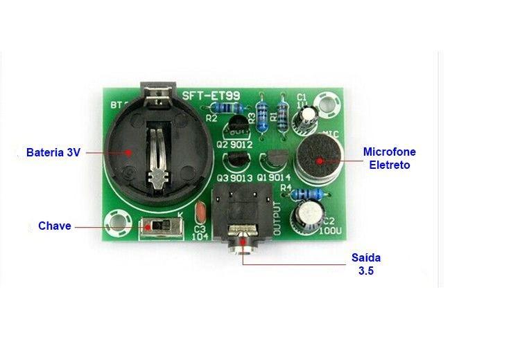 todo electronica microfono espia