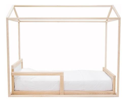 kit montessori individual cama indv casa de sueños 2 repisas