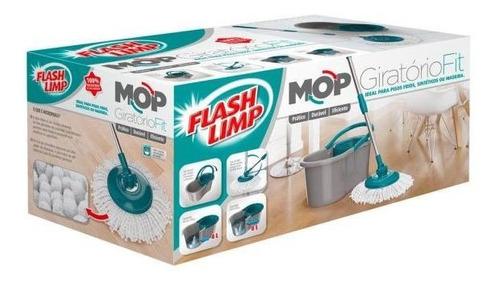 kit mop fit flash limp - mescla