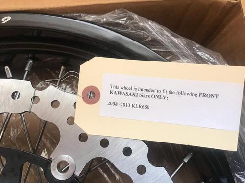 kit motard para klr 650 nuevo de paquete