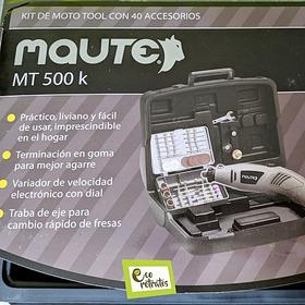 Kit Moto Tool Maute Mt 500 K Sirve Con Accesorios Dremel