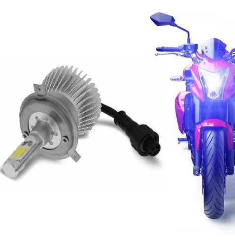 kit moto xenon de led h4 cree 3200 lm alto e baixo farol led