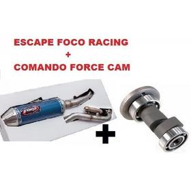 Kit Motoetrilha Force Cam + Foco Racing Crf 230 Competição