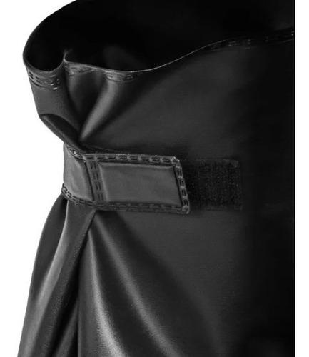 kit motoqueiro capa de chuva + bota impermeável + polaina