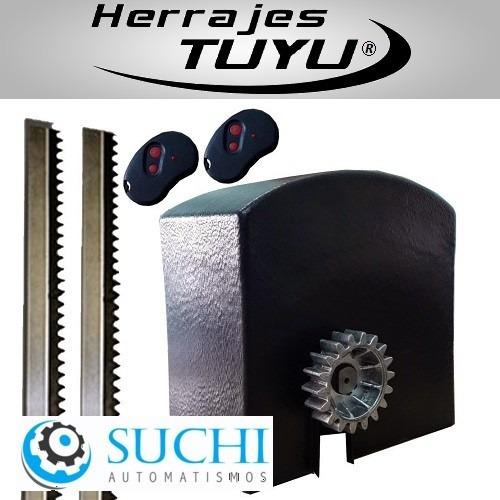 kit motor automatizacion suchi allumina porton corredizo 3 m