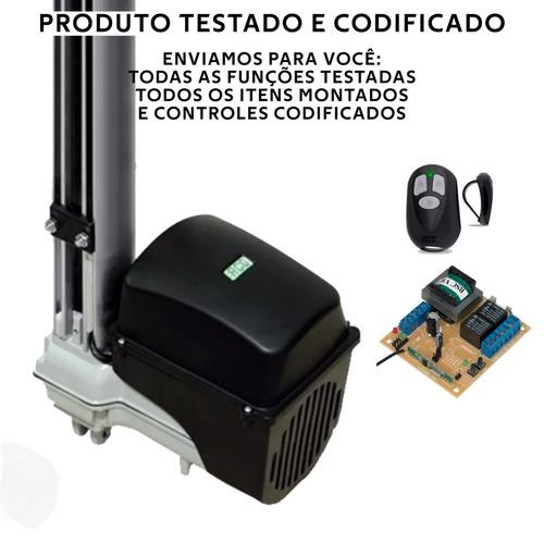 kit motor automatizador p/ portão  basculante maxi 450kg rcg