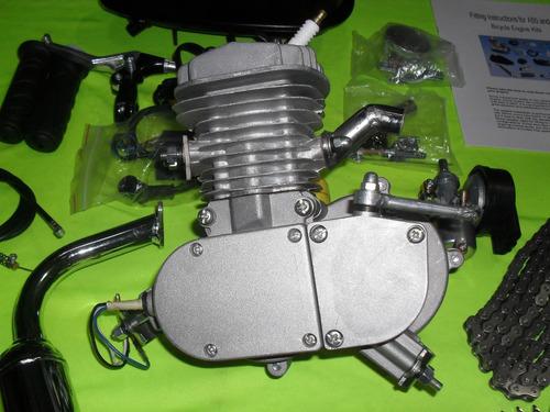kit motor bicicleta 48/80cc calidad 1 ciclomotor bicimoto