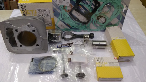 kit motor cilindro pistão anel biela válvula cbx 200 nx xr r