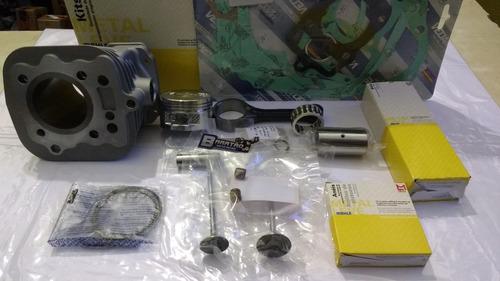 kit motor cilindro pistão biela válvula today 125 titan 99