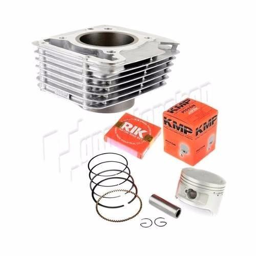 kit motor comp.cilindro-pistao-anel e junta kit  a  cbx200