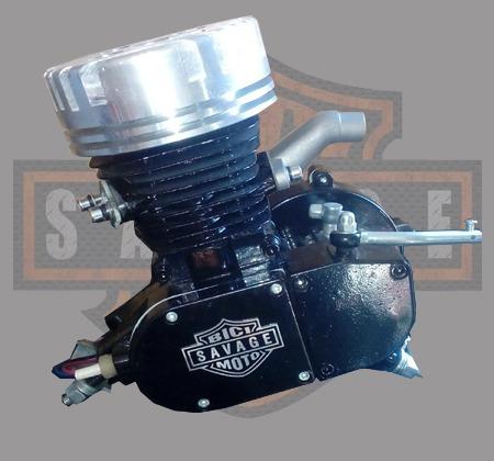 kit motor completo 80cc potenciado p/armar tu bicimoto *