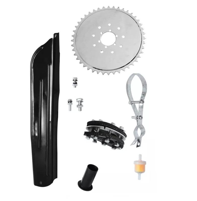 kit motor completo p/ bicicleta motorizada 80cc dsr