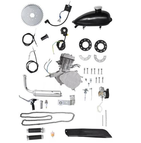 kit motor completo para bicicleta 80cc c/ nota fiscal - dsr