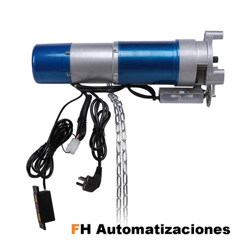 kit motor cortina metálica automática comercial 600kg