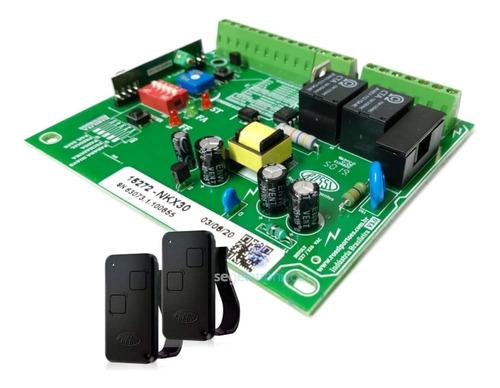 kit motor de portão eletronico basculante rossi 1/4 completo