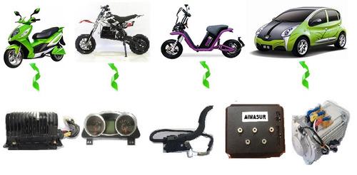 kit motor elecrtrico para carro y moto
