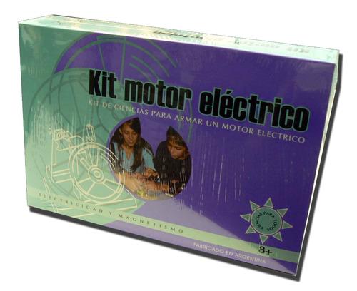 kit motor electrico ciencia para todos (13277)