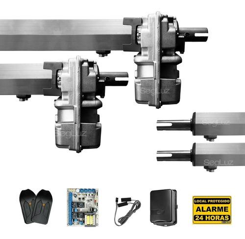 kit motor para portão eletrônico pivotante duplo super ppa