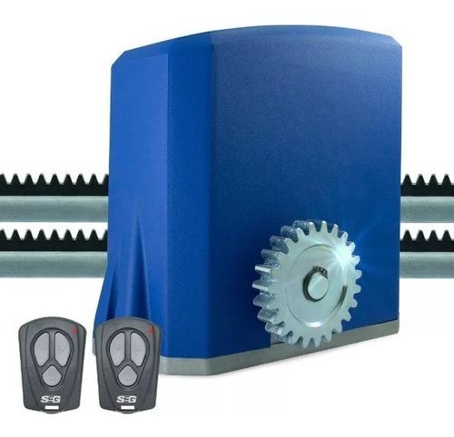 kit motor para portón corredizo seg ch 1.0 hierro automat.