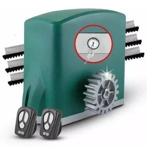 kit motor para portón corredizo seg ch600 hierro automat.