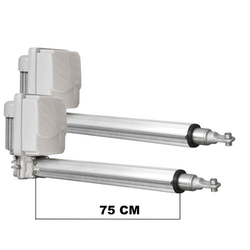 kit motor peccinin pivotante golden max 2 folhas de até 3,5m