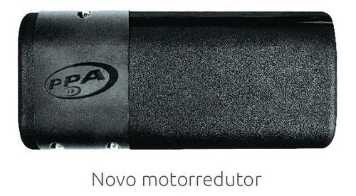 kit motor porta eletrônica social pivotante 90ø giro ppa
