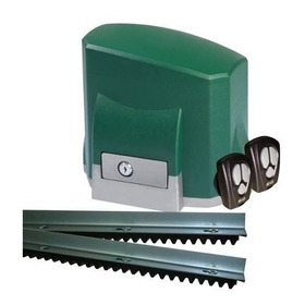 Kit Motor Portão Aut. Deslizante Seg 110v 1/4 Hp Sem Cremalh