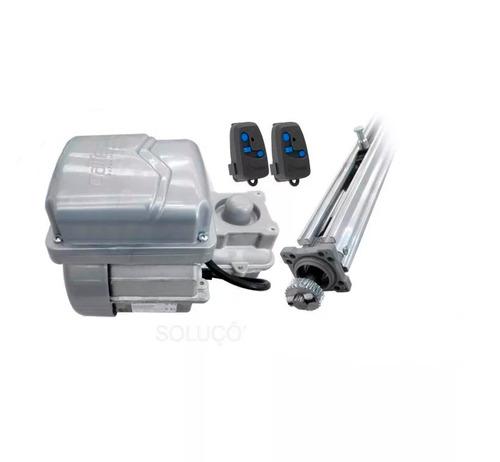 kit motor portão eletrônico basculante 1/4hp gatter peccinin
