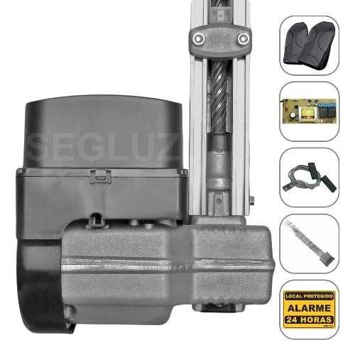 kit motor portão eletrônico basculante ppa levante 1/4 350kg