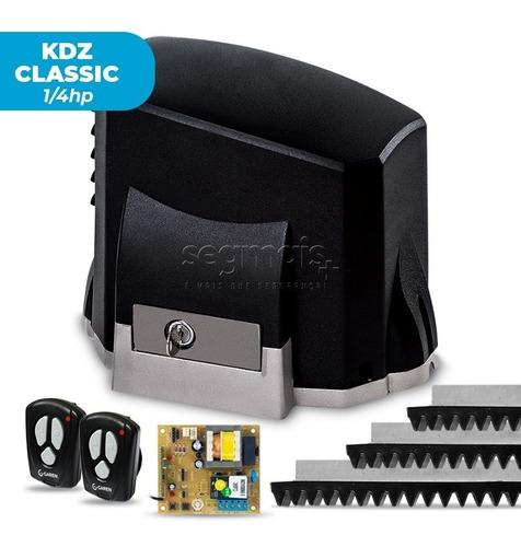kit motor portão eletrônico deslizante kdz classic 1/4 garen