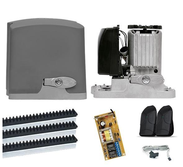 fb48cda23c2 Kit Motor Portão Eletrônico Deslizante Ppa Dz Rio 1 4 - R  382