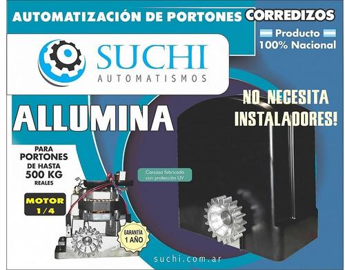 kit motor porton corredizo 500 kg suchi zona norte pacheco