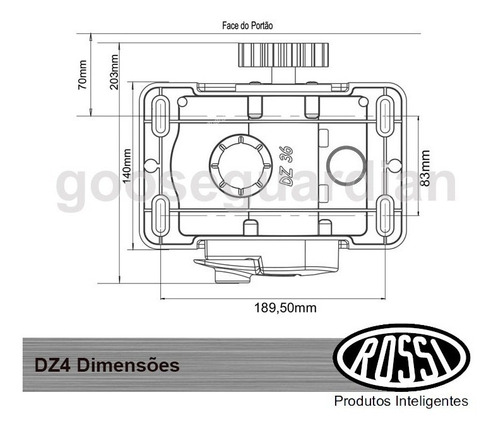 kit motor rossi 1 dz4 sk 2 control 800kg